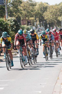 Skupinska vožnja pri kolesarjenju