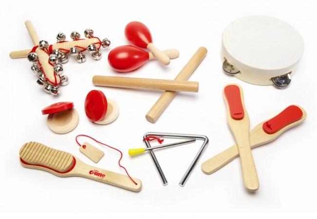 Lesene igrače - glasbila