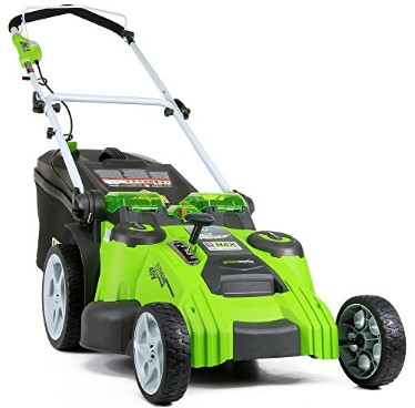 Prenosti in slabosti vrtne kosilnice GreenWorks G-MAX 40V 25302