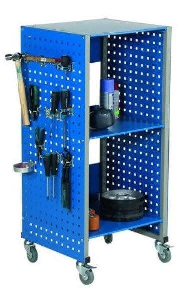 Olajšajmo si prenos orodja v skladišču ali garaži